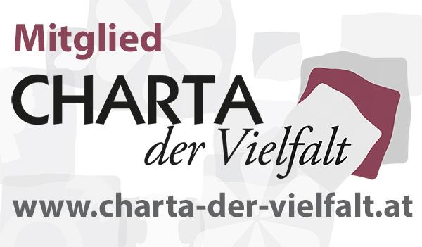 Logo für Mitglieder der CHARTA der Vielfalt